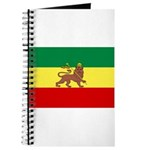 Lion of Judah Ethopian Flag Journal