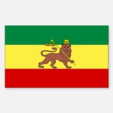 Lion of Judah Ethopian Flag Decal