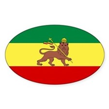 Lion of Judah Ethopian Flag Decal