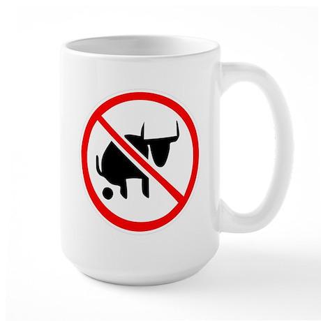 No BS Large Mug