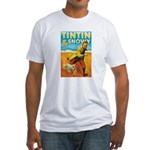 Tintin & Snowy Fitted T-Shirt