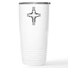Doved Cross Travel Mug