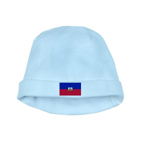 Flag of Haiti baby hat