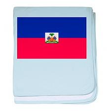 Flag of Haiti baby blanket
