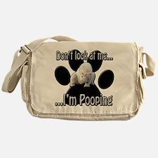 Don't Look Messenger Bag