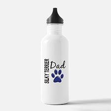 Silky Terrier Dad 2 Water Bottle