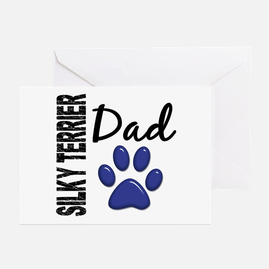 Silky Terrier Dad 2 Greeting Cards (Pk of 20)