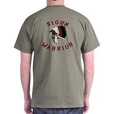 Sioux Warrior T-Shirt (Dark)