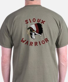 Sioux Warrior T-Shirt (Dark)