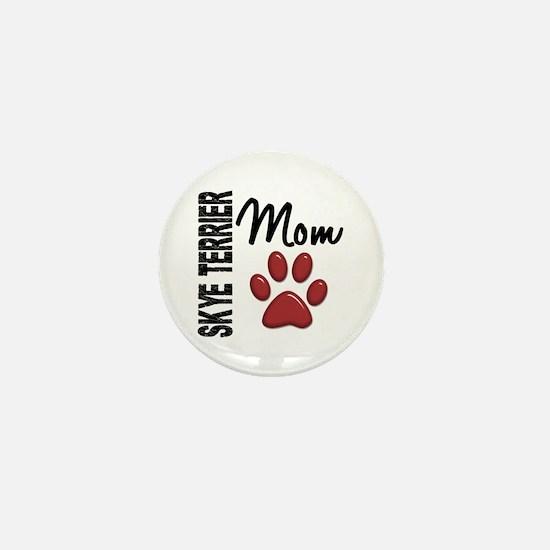 Skye Terrier Mom 2 Mini Button