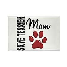 Skye Terrier Mom 2 Rectangle Magnet (100 pack)
