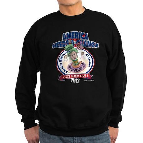 """Lunatic Fringe"" Sweatshirt (dark)"