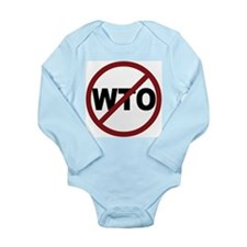 NO WTO Long Sleeve Infant Bodysuit