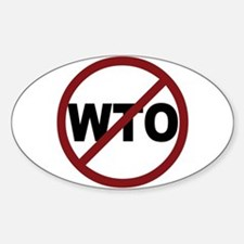 NO WTO Decal