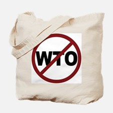 NO WTO Tote Bag