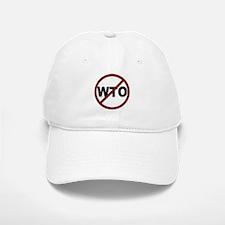 NO WTO Baseball Baseball Cap