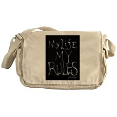 My Life My Rules Messenger Bag