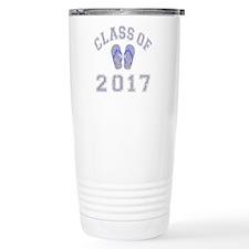 Class Of 2017 Flip Flop Travel Mug