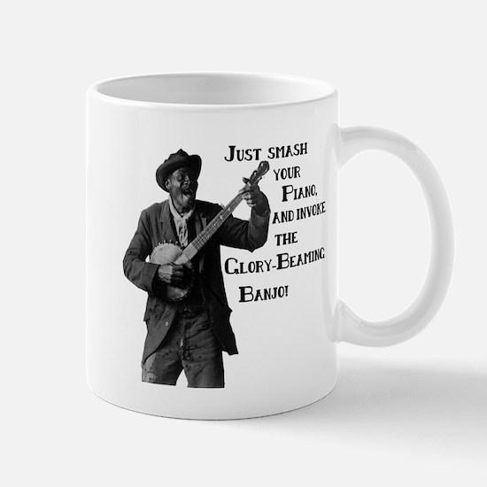 Glory-Beaming Banjo Mug