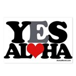 Yes Aloha Postcards (Package of 8)