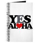 Yes Aloha Journal