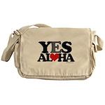 Yes Aloha Messenger Bag