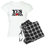Yes Aloha Women's Light Pajamas
