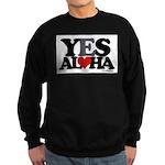 Yes Aloha Sweatshirt (dark)