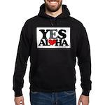 Yes Aloha Hoodie (dark)