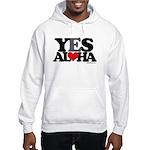 Yes Aloha Hooded Sweatshirt