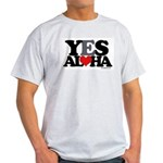 Yes Aloha Light T-Shirt