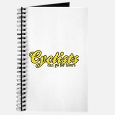 Cyclists Can Go for Hours Journal