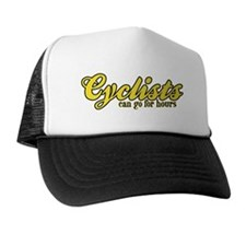 Cyclists Can Go for Hours Trucker Hat