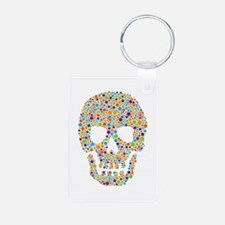 Skull of Dots Keychains
