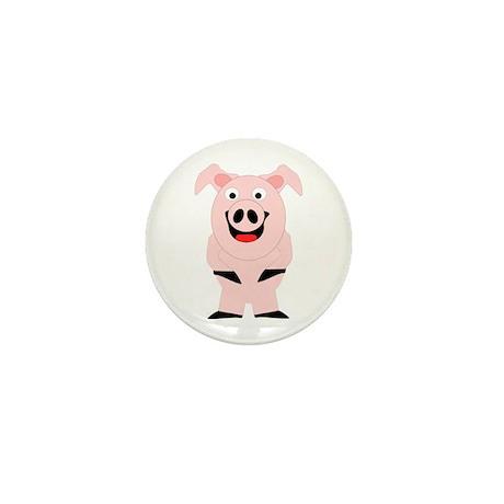 Pig Design Mini Button (10 pack)