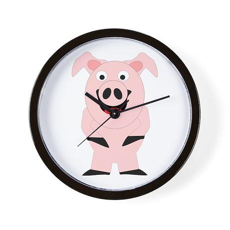 Pig Design Wall Clock
