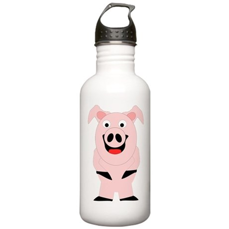 Pig Design Stainless Water Bottle 1.0L