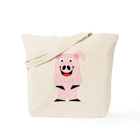 Pig Design Tote Bag