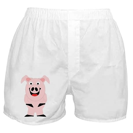 Pig Design Boxer Shorts
