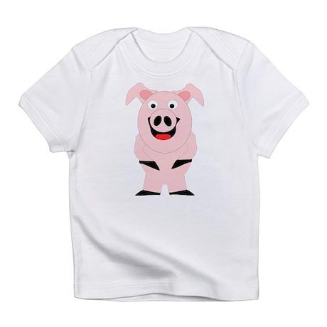 Pig Design Infant T-Shirt