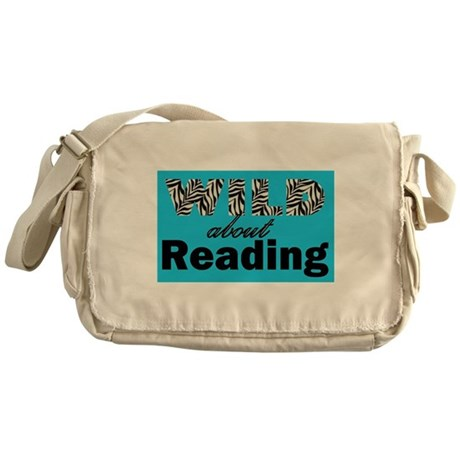 Wild About Reading Messenger Bag