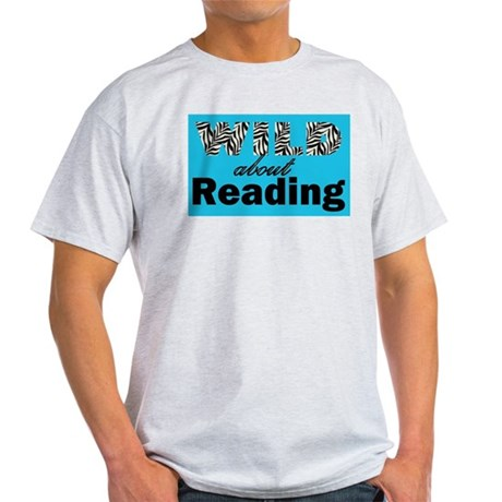 Wild About Reading Light T-Shirt