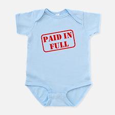 Paid in Full Infant Bodysuit