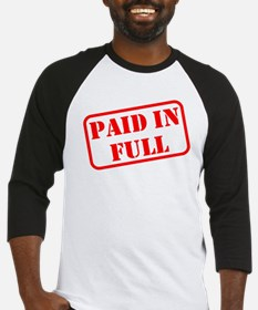 Paid in Full Baseball Jersey