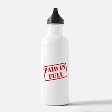 Paid in Full Water Bottle