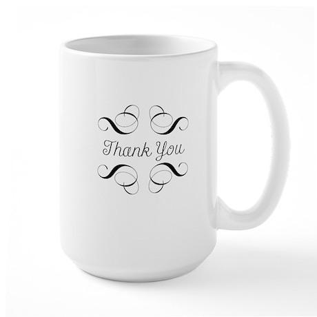 Thanks Large Mug