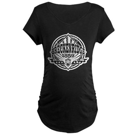 Breckenridge 1859 Vintage Maternity Dark T-Shirt