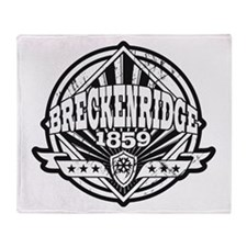 Breckenridge 1859 Vintage Throw Blanket