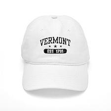 Vermont Est. 1791 Baseball Cap