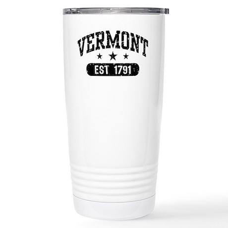 Vermont Est. 1791 Stainless Steel Travel Mug